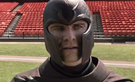 X-Men Days of Future Past Clip: Magneto Lifts RFK Stadium!