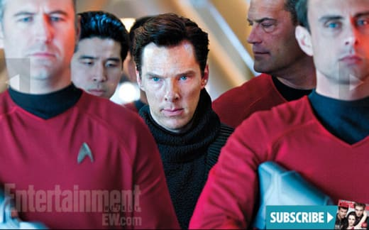 Benedict Cumberbatch Star Trek Into Darkness Still