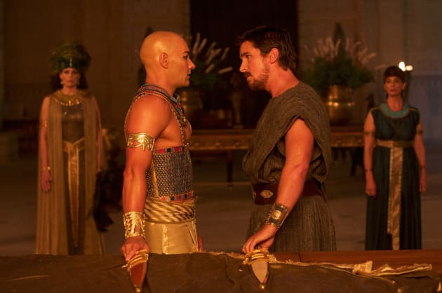 Exodus Gods and Kings Joel Edgerton Christian Bale