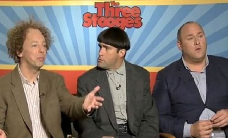 The Three Stooges Exclusive: Larry, Curly & Moe Interview