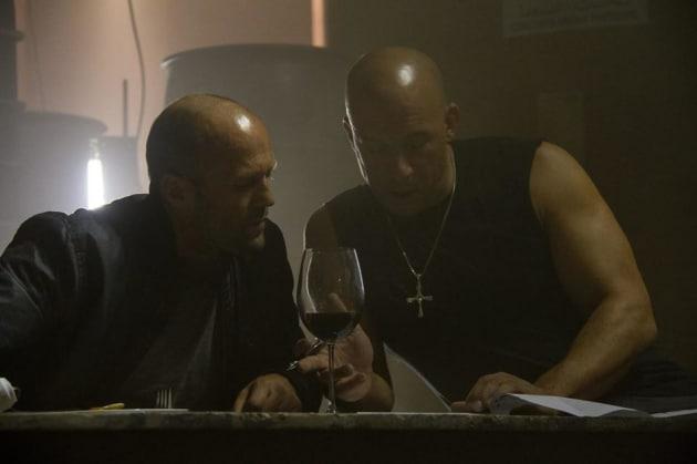 Fast and Furious 7 Jason Statham Vin Diesel