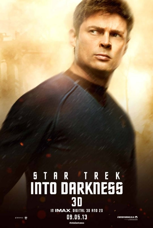 Star Trek Into Darkness Karl Urban Poster