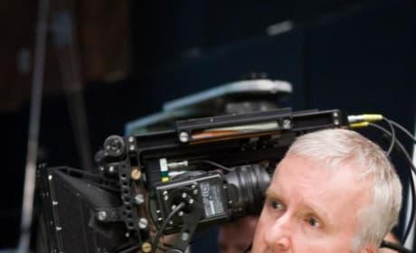 James Cameron with the Virtual Camera
