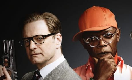 Kingsman The Secret Service Samuel L. Jackson Colin Firth