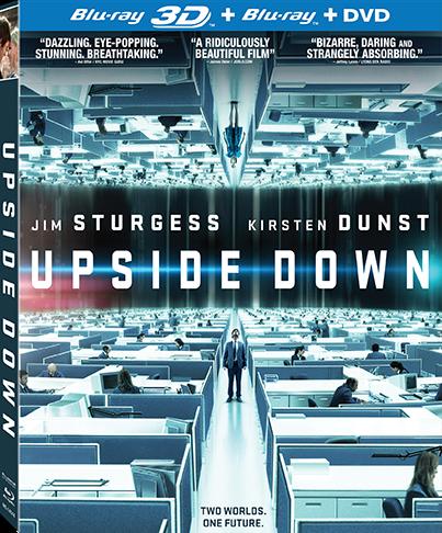 Upside Down Blu-Ray
