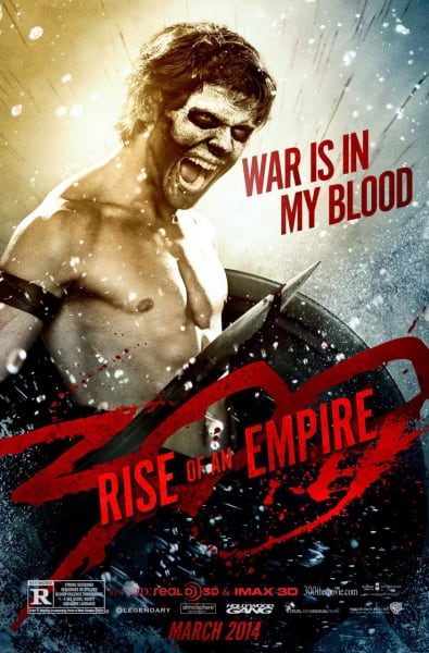 300 Rise of an Empire Jack O'Connell Movie Poster
