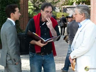 Oliver Stone Directs Douglas and LaBeouf