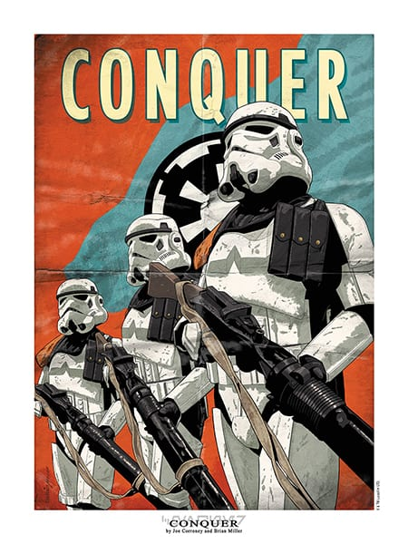 Star Wars Poster: Conquer!