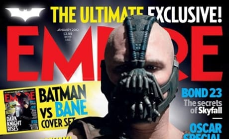 The Dark Knight Rises: Tom Hardy is Bane