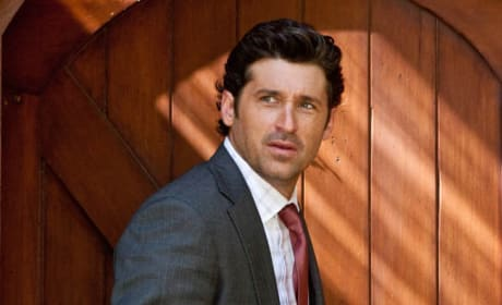 Patrick Dempsey Boards Transformers 3