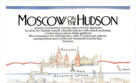 Moscow on the Hudson Poster