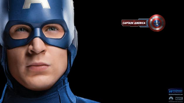 The Avengers Wallpaper: Captain America