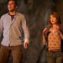 Kristen Connolly and Jesse Williams in The Cabin in the Woods