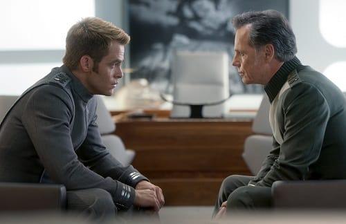 Bruce Greenwood Chris Pine Star Trek Into Darkness