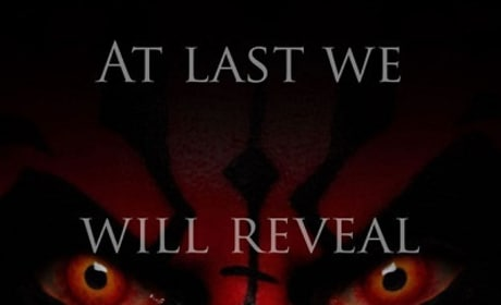 Darth Maul in The Phantom Menace Poster