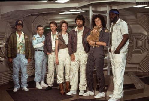 The Cast of Alien