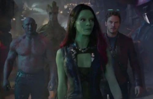 Guardians of the Galaxy Cast Photo