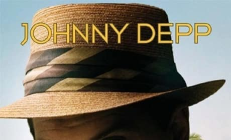 The Rum Diary Poster: Johnny Depp Plastered All Over It