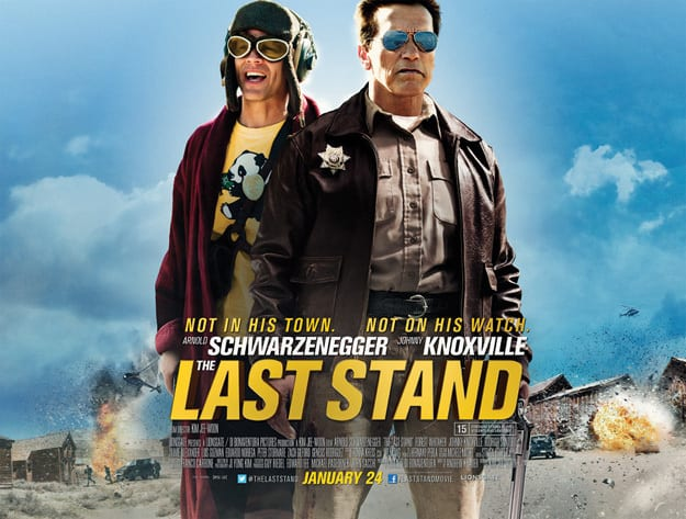 The Last Stand Quad Poster