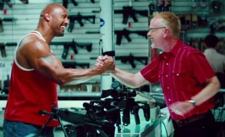 Dwayne Johnson Pain and Gain