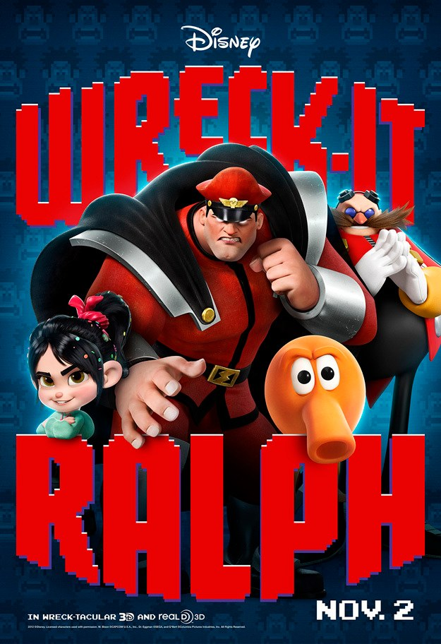 Wreck-It Ralph Posters: Classic Arcade Characters Come to ...