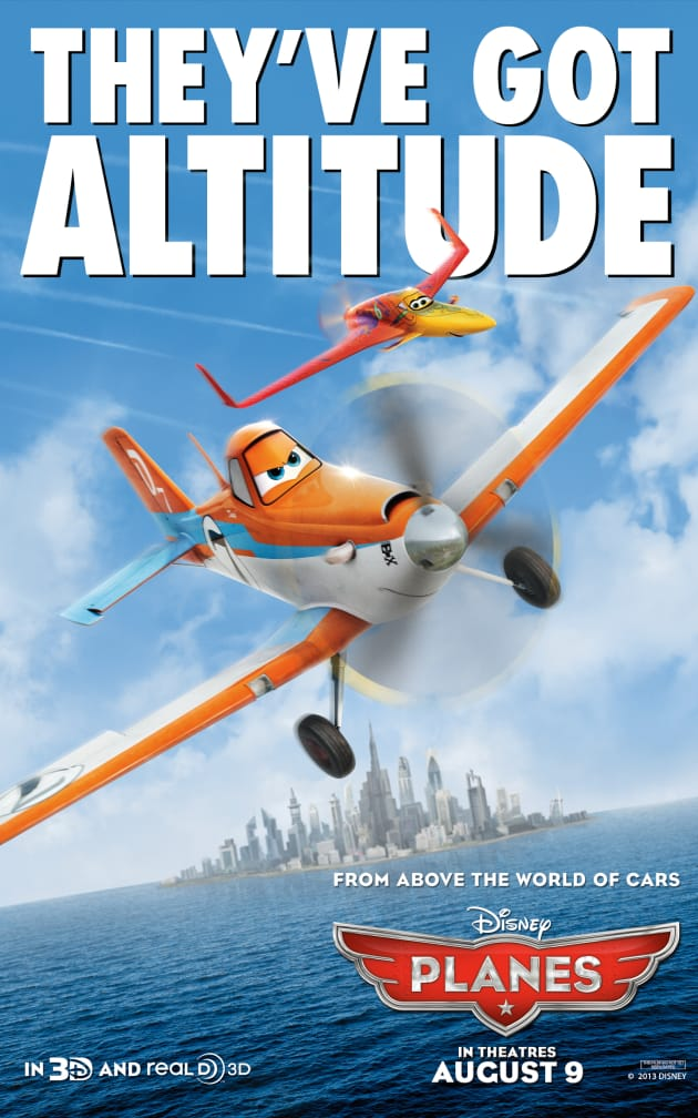 Planes Poster - Altitude