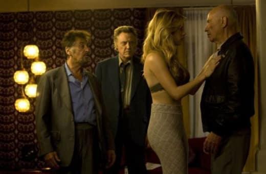 Christopher Walken, Alan Arkin and Al Pacino in Stand Up Guys