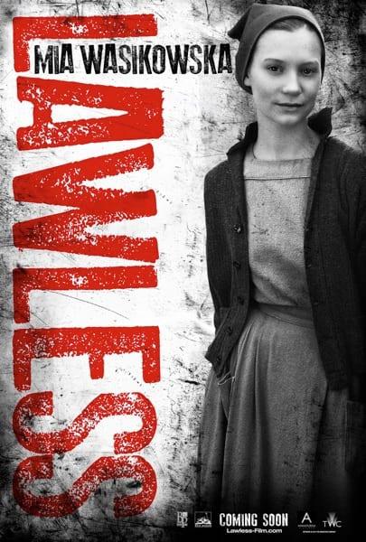 Lawless Character Poster: Mia Wasikowska