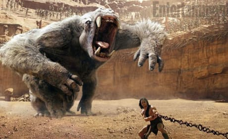 John Carter: First Photo of White Ape