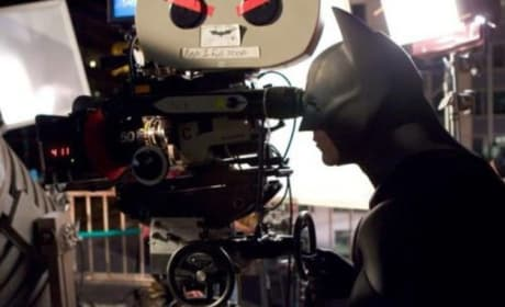Batman Begins Set Photo