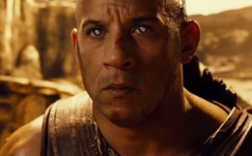 Vin Diesel is Riddick in Riddick DVD