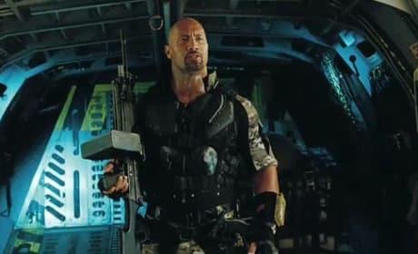 Dwayne Johnson in G.I. Joe: Retribution