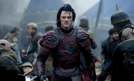 Dracula Untold Star Luke Evans Photo