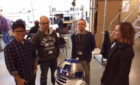 Star Wars Episode VII: J.J. Abrams Posts First Set Photo