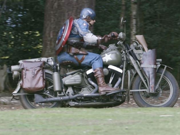 Captain America Motorcycle Stuntman 2