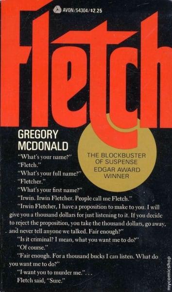 Fletch Novel Cover