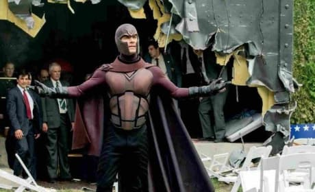 X-Men Days of Future Past Michael Fassbender Is Magneto