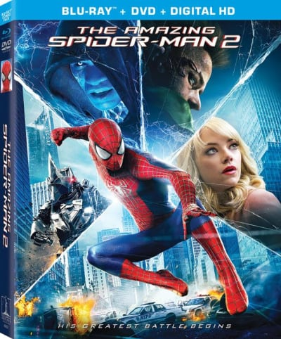 The Amazing Spider-Man 2 DVD