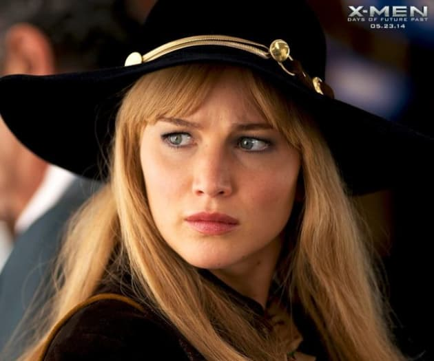 X-Men Days of Future Past Jennifer Lawrence Stars