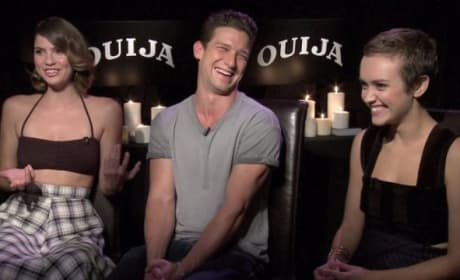 Ouija Exclusive: Olivia Cooke & Cast Dish Perfect Date Movie!