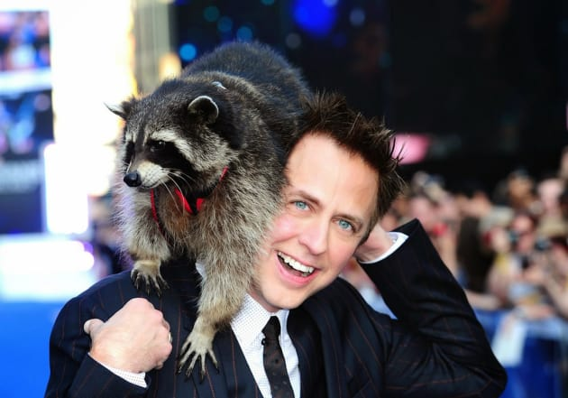 James Gunn Is Obsessed with Raccoons
