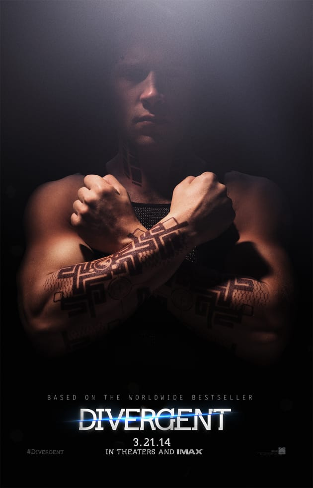 Divergent Jai Courtney Character Poster