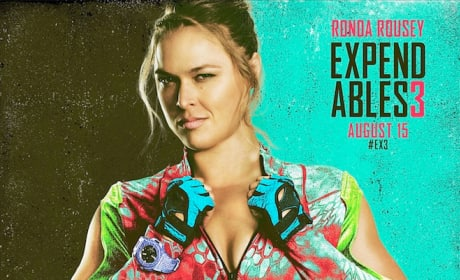 The Expendables 3 Ronda Rousey Comic Con Poster