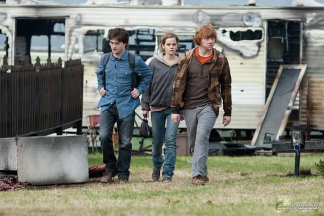 Harry, Hermoine and Ron on the Prowl