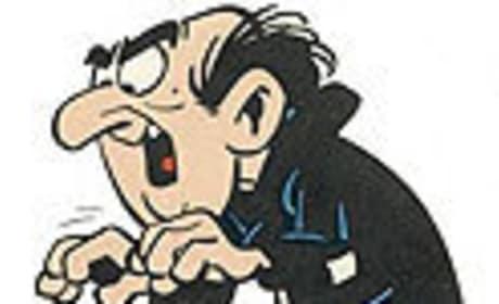 Hank Azaria is Gargamel Smurf
