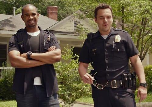 Damon Wayans Let's Be Cops Jake Johnson