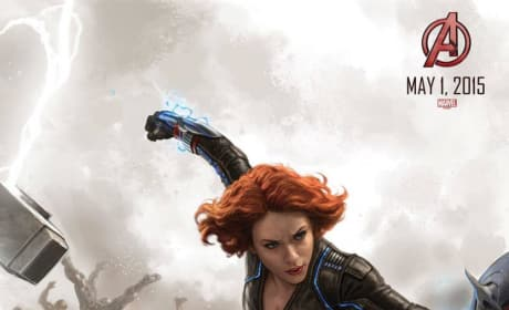 Avengers: Age of Ultron Black Widow Concept Art Poster
