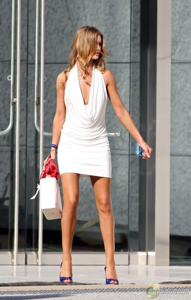 Rosie White Dress