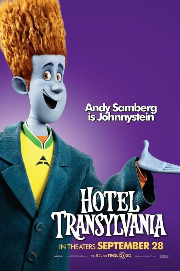 Hotel Transylvania Johnnystein Poster