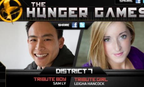 District Seven Tributes in The Hunger Games